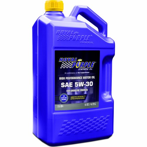 Royal Purple 51530 API-Licensed SAE 5W-30 High Performance Synthetic Motor Oil - 5 qt.