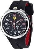 Ferrari Herren-Armbanduhr XL Analog Quarz Silikon 830100