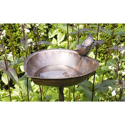 Bundle-57 Heart Shaped Birdbath and Feeder (2