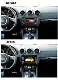 Oem Fit In-dash Dvd Player 8 Inch 2-din Digital Touch Screen for Audi Tt 2006-2011 with Bluetooth/radio/back up Sensor/8gb Sd Card/2gb Usb