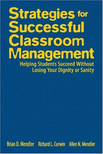 Strategies for Successful Classroom Management: Helping...