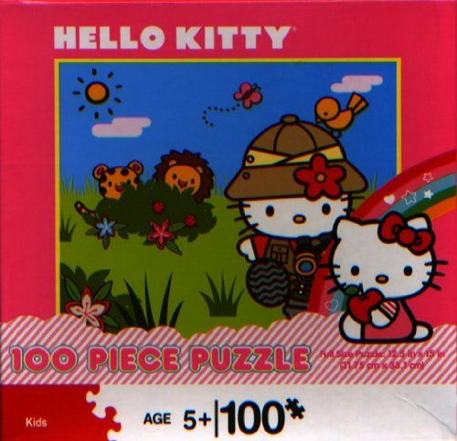 Hello Kitty: Safari Explorer 100 Piece Puzzle - 1