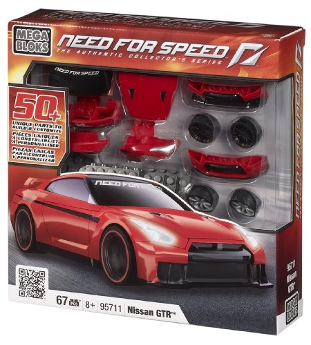 Megabloks Need for Speed Build & Customize Nissan GTR (Nissan Gtr Model compare prices)