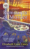 img - for Remnants of Murder (A Southern Sewing Circle Myste) book / textbook / text book