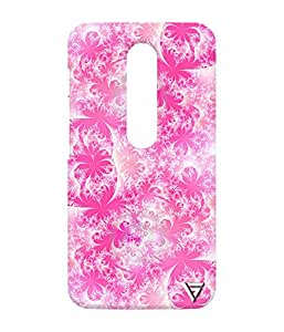 Vogueshell Flower Pattern Printed Symmetry PRO Series Hard Back Case for Motorola Moto G Turbo
