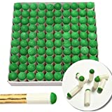 147 100PCS 10mm Push-on Snooker Tips Pool Cue Stick Slip-on Tips