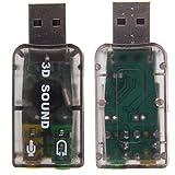 三和順 サウンドカード USBオーディオインターフェース デスクトップ ノートパソコン 外付けサウンドカード ランキングお取り寄せ