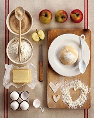 Posters: Cuisine Poster Reproduction - La Tarte Aux Pommes, Chauvin (30 x 24 cm)