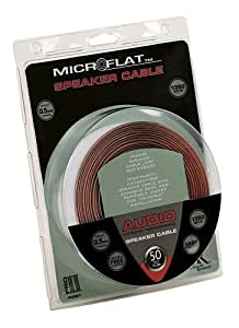 Acoustic Research PR397 Pro II Series 1350-Watt Microflat Speaker Cable (50ft)