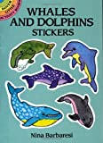 Whales and Dolphins Stickers (Dover Little Activity Books Stickers) (0486269787) by Nina Barbaresi