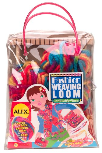 Buy Alex  10″  Wooden Fashion Weaving Loom in a Plastic Carry Tote