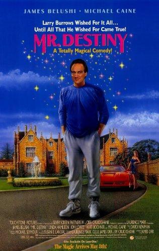 Mr. Destiny Movie Poster (27 X 40 Inches - 69Cm X 102Cm) (1990) Style B -(James Belushi)(Michael Caine)(Linda Hamilton)(Jon Lovitz)(Bill Mccutcheon)(Hart Bochner)