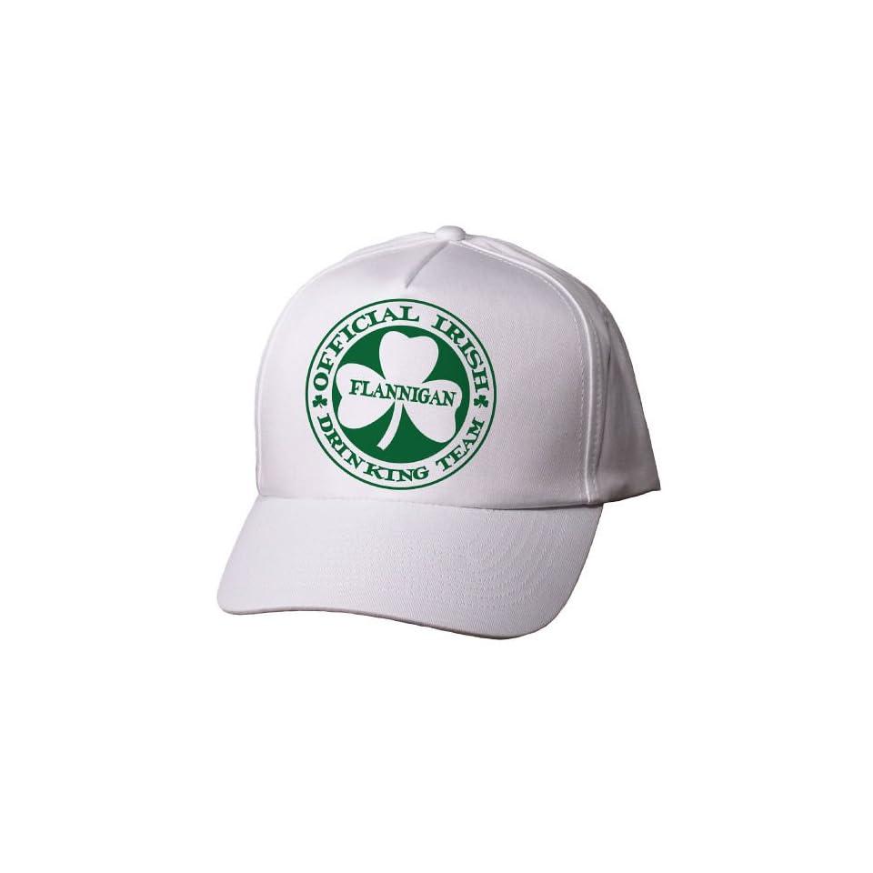 Irish Drinking Team Personalized Hat