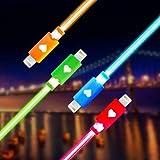 Amazon.co.jpTaoTech iPhone iPad USB 8pin Lightning 充電ケーブル イルミネーション LED 光る ライトニング 充電 ケーブル コード コネクタ データ 転送 通信 可能 (ブルー)