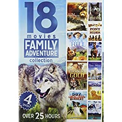 18-Movies Family Adventure Collection