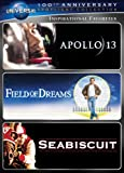Inspirational Favorites Spotlight Collection [Apollo 13, Field of Dreams, Seabiscuit] (Universals 100th Anniversary)