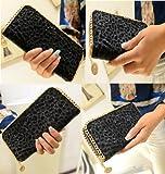 チェーントリミング 長財布 (ブラック)