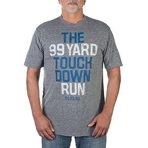Dallas Cowboys Mens 99 Yard Run T-Shirt by Dallas Cowboys