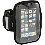 Arkon Sports Running Jogging Neoprene Armband for Apple iPhone 4S 4 3GS iPod touch 3.5 and 4 inch Screen Size Smartphones