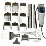 Wahl 79900B Clip-N-Trim 23-Piece Complete Haircut Kit (Color: Black)