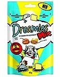 Dreamies Katzensnack Mix mit Lachs und Käse, 3er Pack (3 x 60g)