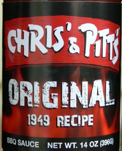 Chris' & Pitt'S Barbecue Sauce - Original 1949 Recipe - 14Oz. (2 Bottles)