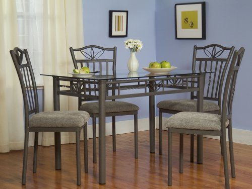 dining room sets 5 pc lily dining set gray