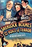 Sherlock Holmes And The Voice Of Terror [1942] [DVD]