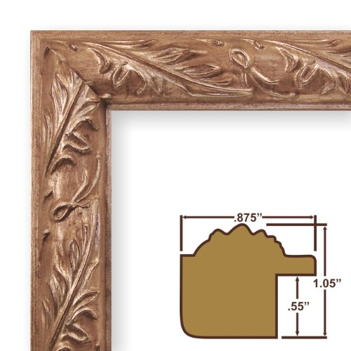 Square Gallery Black Wood Picture Frames with Single White Mats and Clear Glass