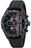 TAG Heuer Men's CAR2A83.FT6033 Carrera Analog Display Swiss Automatic Black Watch