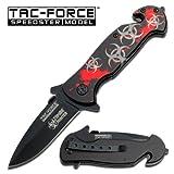 Ao Zombie Hunter Rescue Folding Knife Tf-799rs