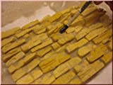 Wüstenfelsen Bausteine Ocker