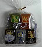 Sugimotoya Okonomi Yokan - Tranditional Japanese Sweet Bean Paste Jelly Cookie Cakes - 5 Flavors (Matcha, Persimmon, Read Bean, Salty, Cream) - 12.1 Oz -- New Arrival!