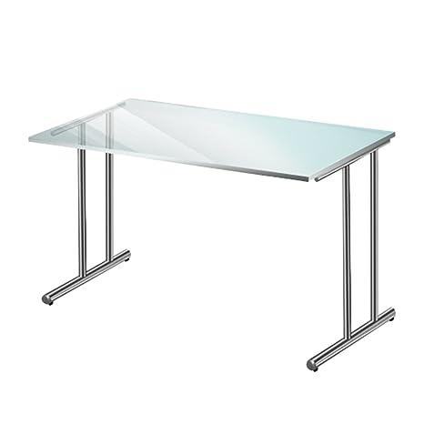 kerkmann escritorio ARTLINE presentación, 200mm, placa de mesa de cristal