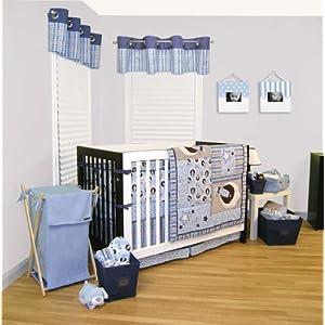 Trend Lab Rockets 4 Piece Crib Bedding Set