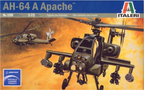 Italeri 1/72 AH-64A Apache - 0159 - Buy Italeri 1/72 AH-64A Apache - 0159 - Purchase Italeri 1/72 AH-64A Apache - 0159 (ITA, Toys & Games,Categories,Hobbies,Hobby Tools)