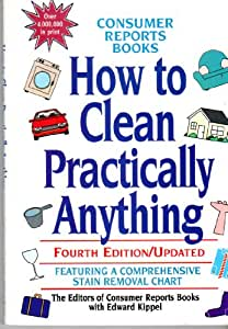 How to clean practically anything book