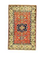 Eden Carpets Alfombra Uzebekistan Rojo/Multicolor 125 x 80 cm