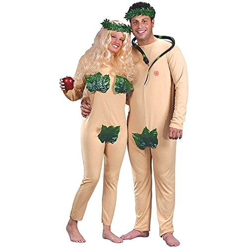 Adam and Eve Couples Adult Costume - One Size