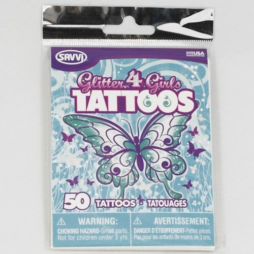 Glitter4Girls Temporary Tattoos - 1
