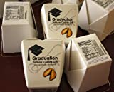 Graduation Message Fortune Cookie Gift, 10-cookies