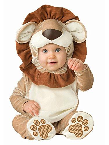 [Lovable Lion Costume - Infant Medium] (Lion Mane Costume For Kids)
