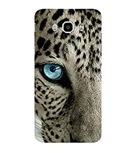 ifasho Designer Phone Back Case Cover Samsung Galaxy On8 Sm-J710Fn/Df ( Panda Cute Look Face Oild Paint Look Finish )