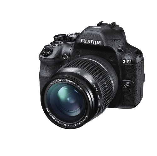 Fujifilm X-S1 12MP EXR CMOS Digital Camera with Fuijinon F2.8 to F5.6 Telephoto Lens and Ultra-Smooth 26x Manual Zoom (24-624mm)
