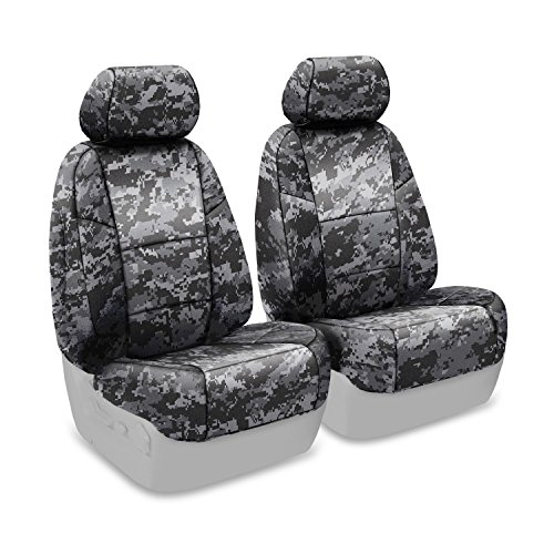 Coverking Front 50/50 Low Back Bucket Custom Fit Seat Cover for Select Yamaha Models - Neosupreme (Digital Urban Camo Solid) (2007 Yamaha Rhino 450 Digital compare prices)