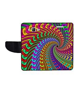 KolorEdge Printed Flip Cover For Samsung Galaxy J2 Multicolor - (1477-47KeMLogo11961SamJ2)
