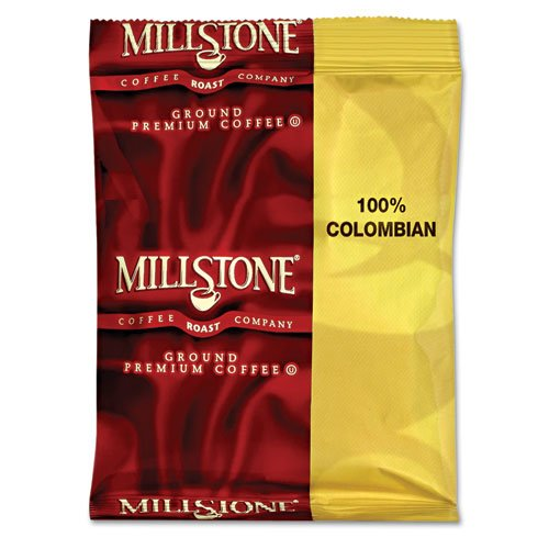 Millstone Gourmet Coffee, 100% Colombian, 1.75 Oz Fraction Pack - Includes 40 Packs Per Case.