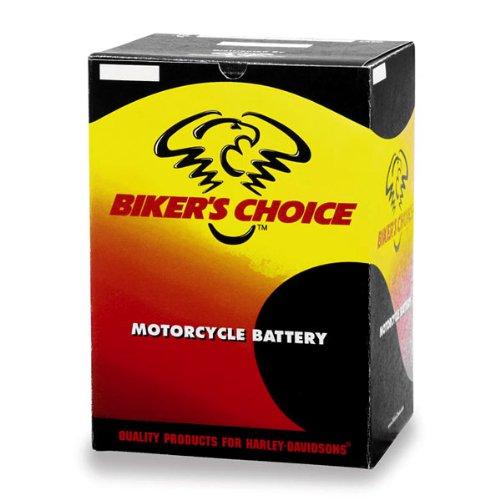 Biker's Choice YTX20H High Performance Maintenance Free Battery for 1971-2000 Harley Davidson Models