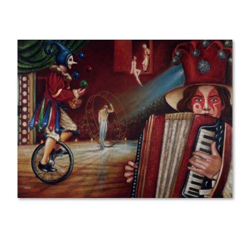 Trademark Fine Art Spectator Artwork By Edgar Barrios, 24 By 32-Inch front-949207