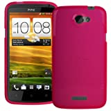 Pink XYLO-GEL Hydro Gloss Skin / Case / Cover for HTC One X and One X+ Mobile Phone